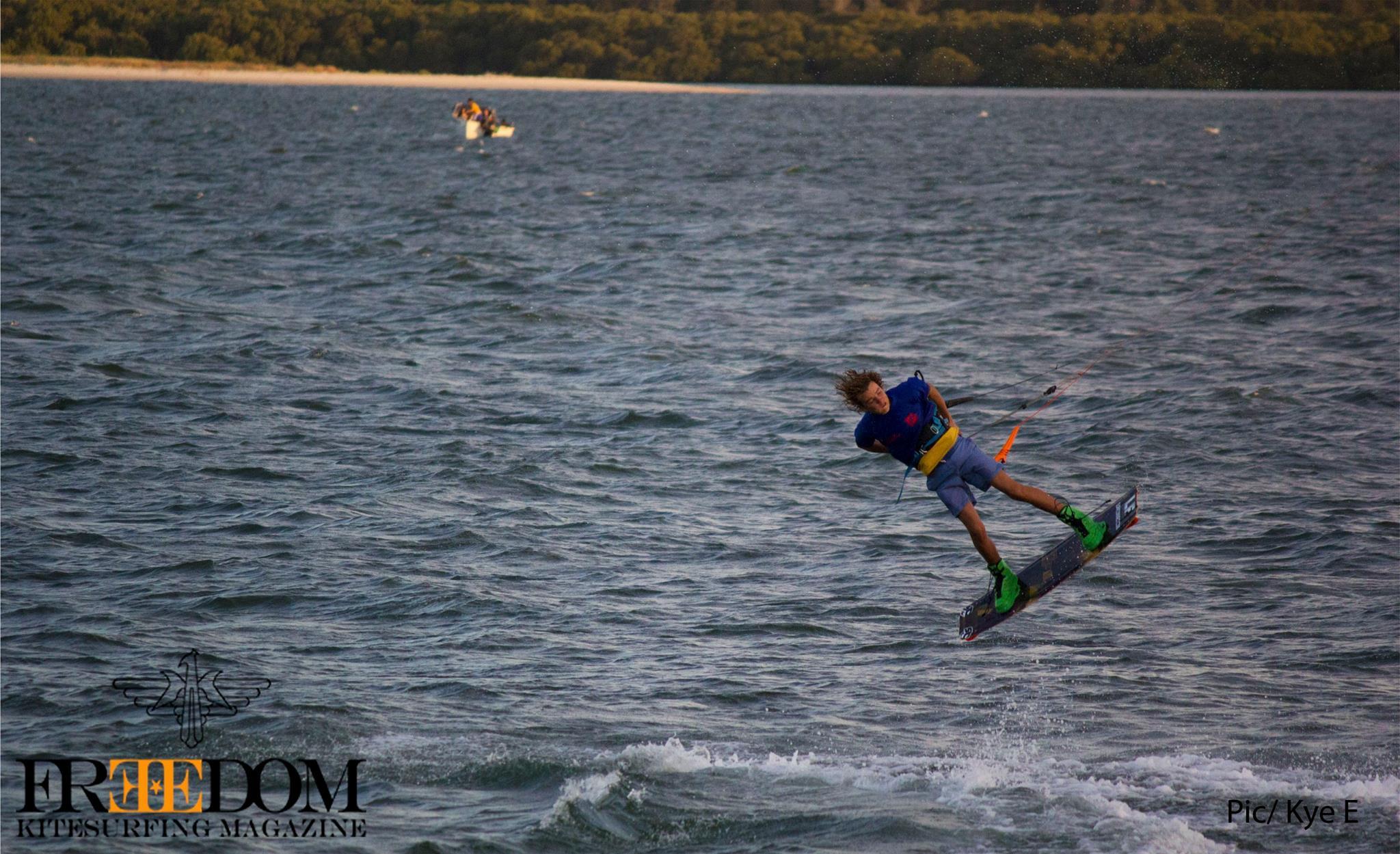 Manny Blanch landing