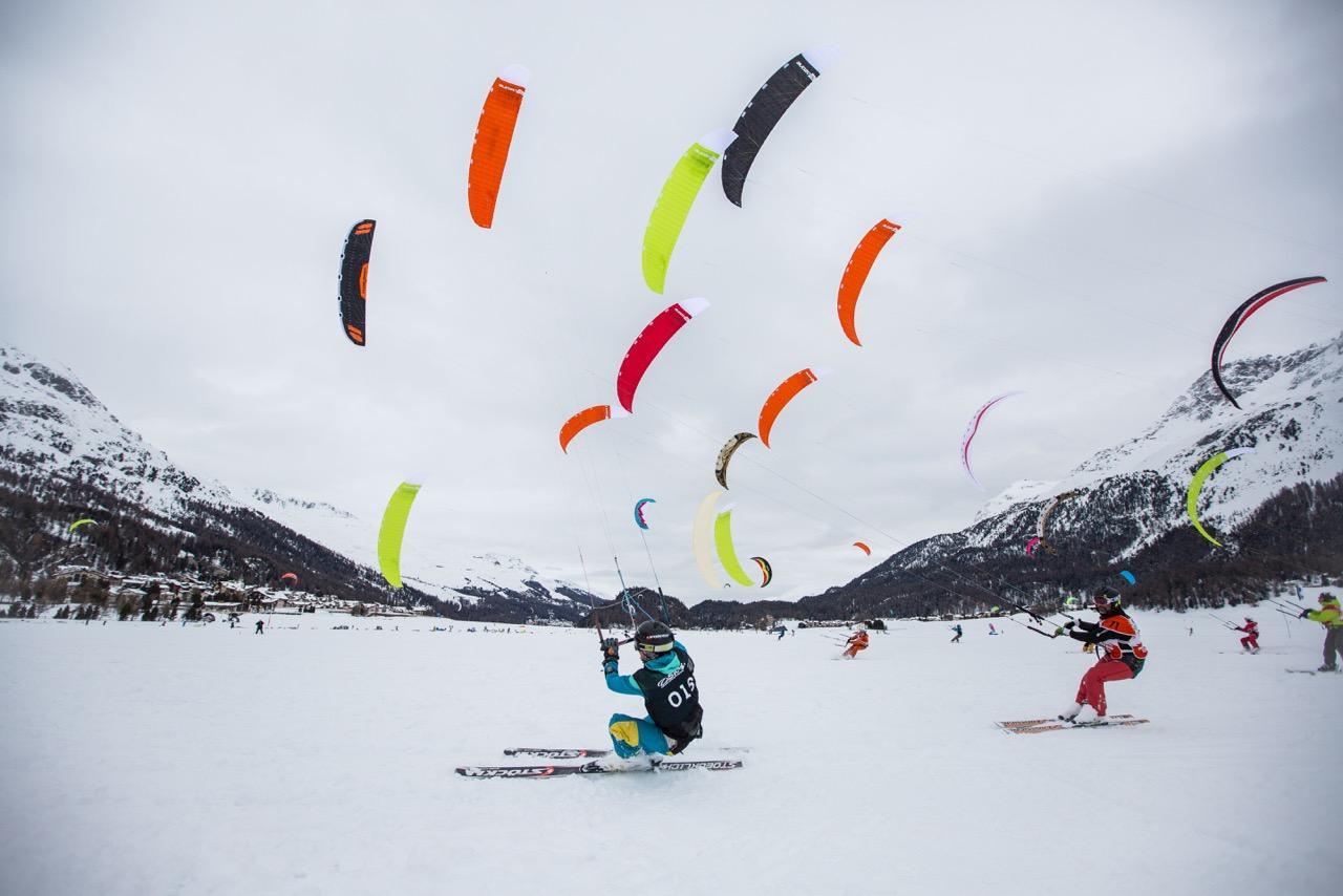 Ozone snow kite masters