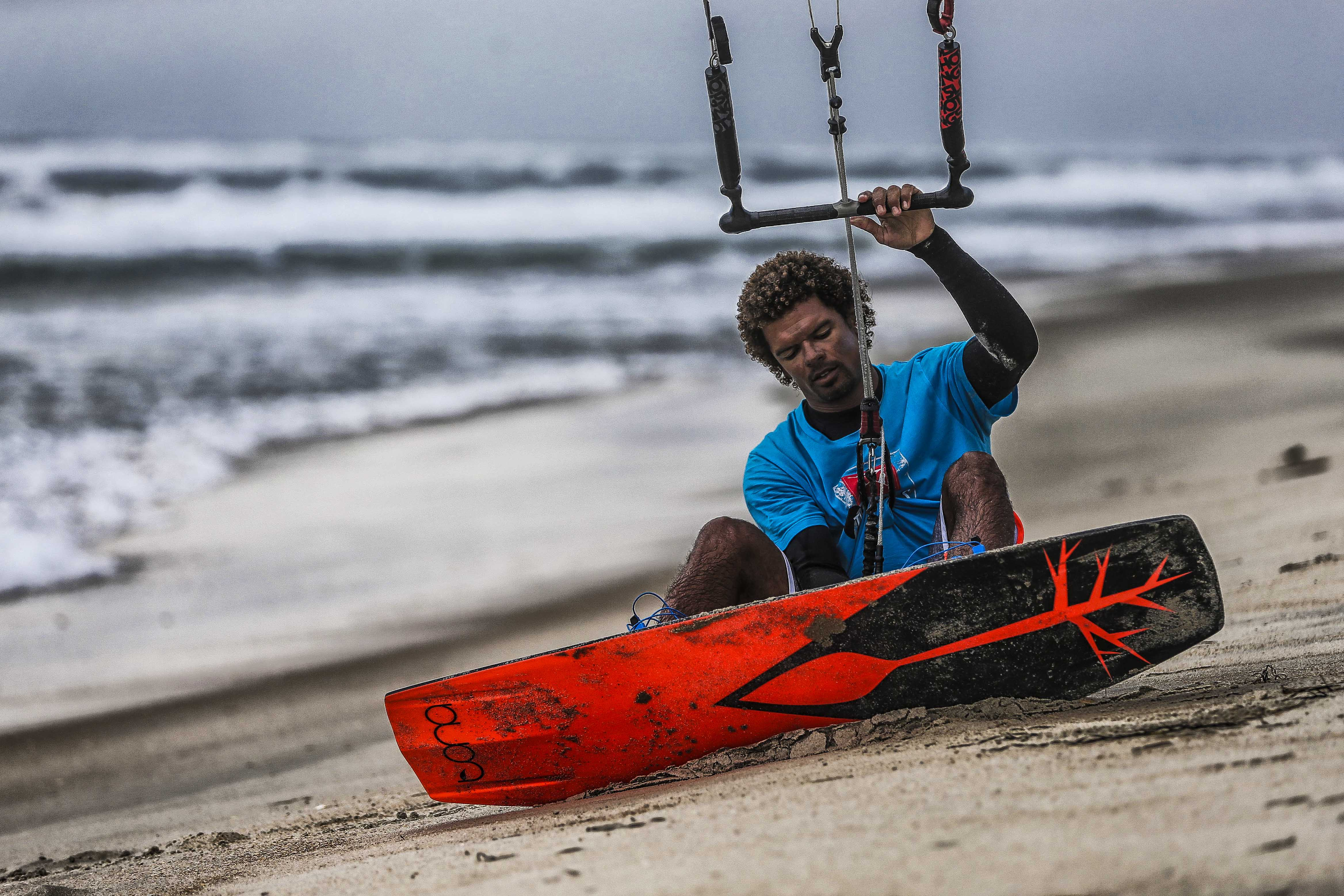 Triple S, Real Kiteboarding, Andre Phillip, Tona kiteboards