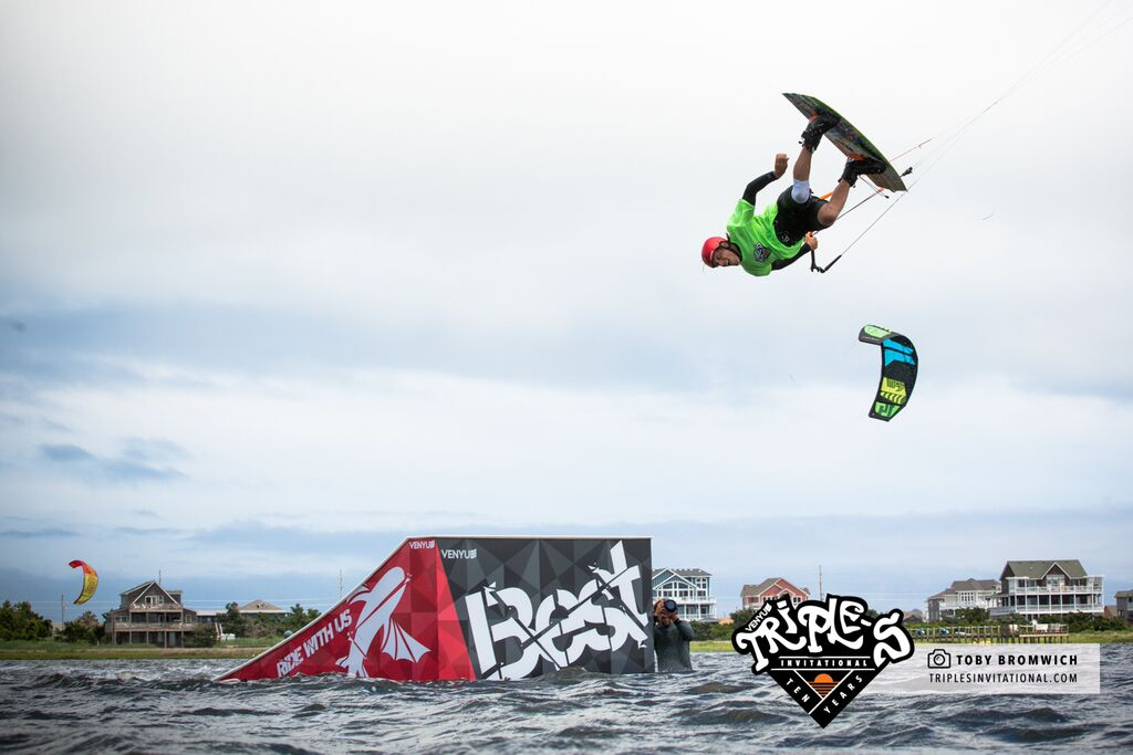 Brandon Scheid, Real Kiteboarding Triple S Invitational 2015, Liquid Force Kiteboarding
