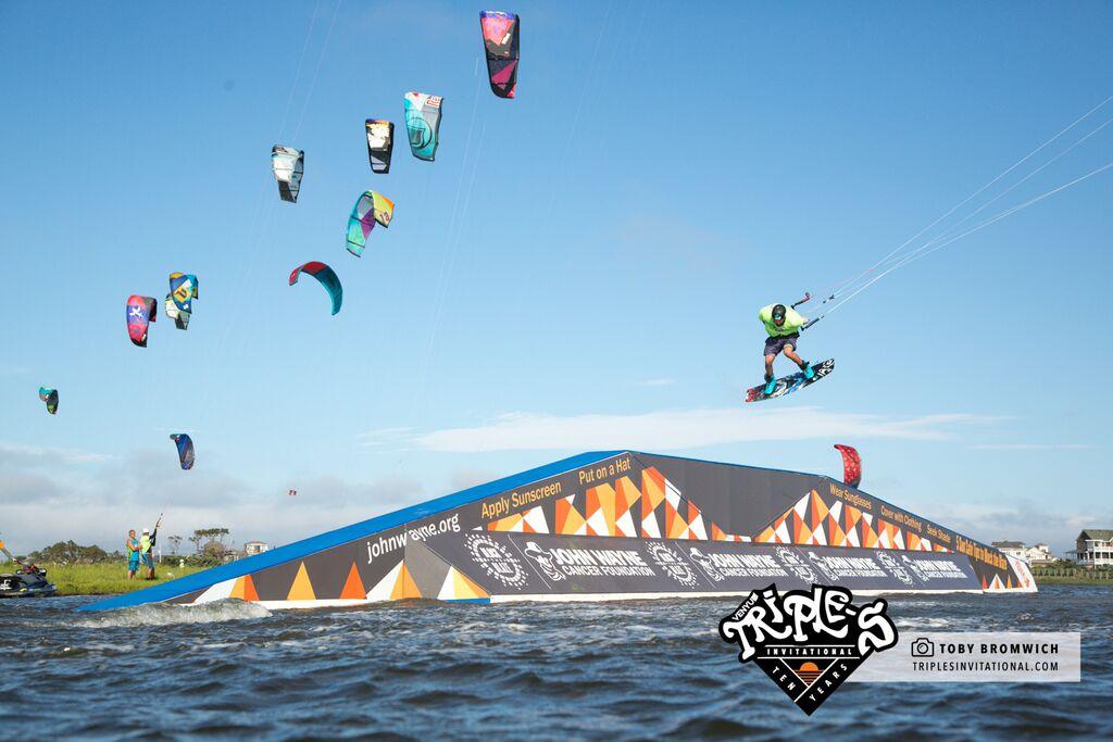 John Wayne A-Frame, Real Kiteboarding Slider Park