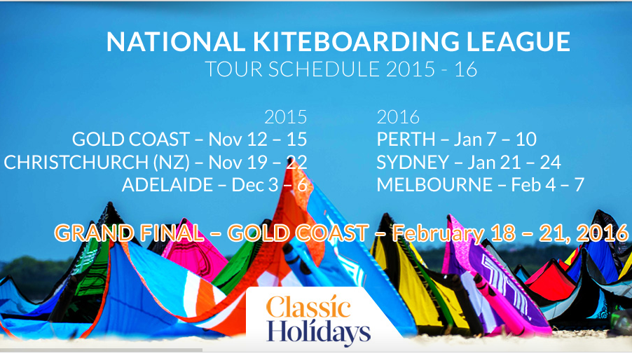 NKL, National Kiteboarding League, Classic Holidays,