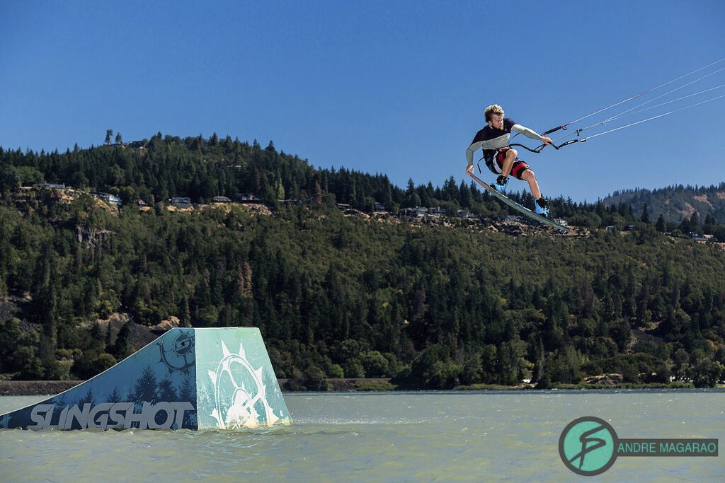 Sam Light, Slingshot Kiteboarding, Hood River Slider Jam, Freedom Kite Mag, Australia Kite Magazine