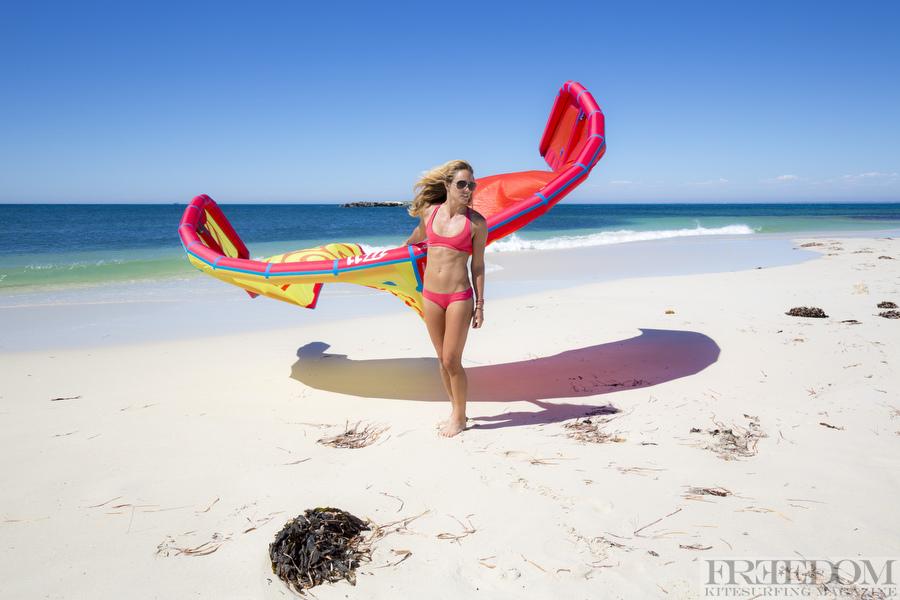 Colleen Carroll in Sensi bikini.