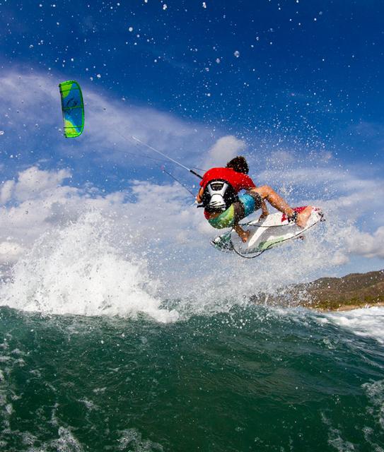 kitesurf air, keahi de aboitiz
