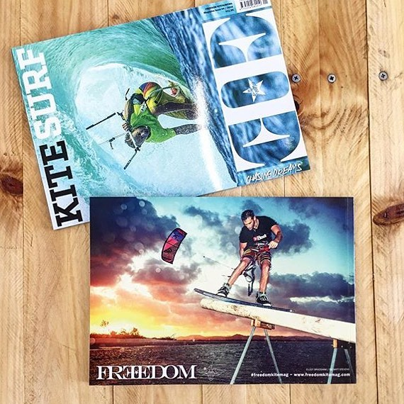 Freedom Kite Mag Issue 4 Cover