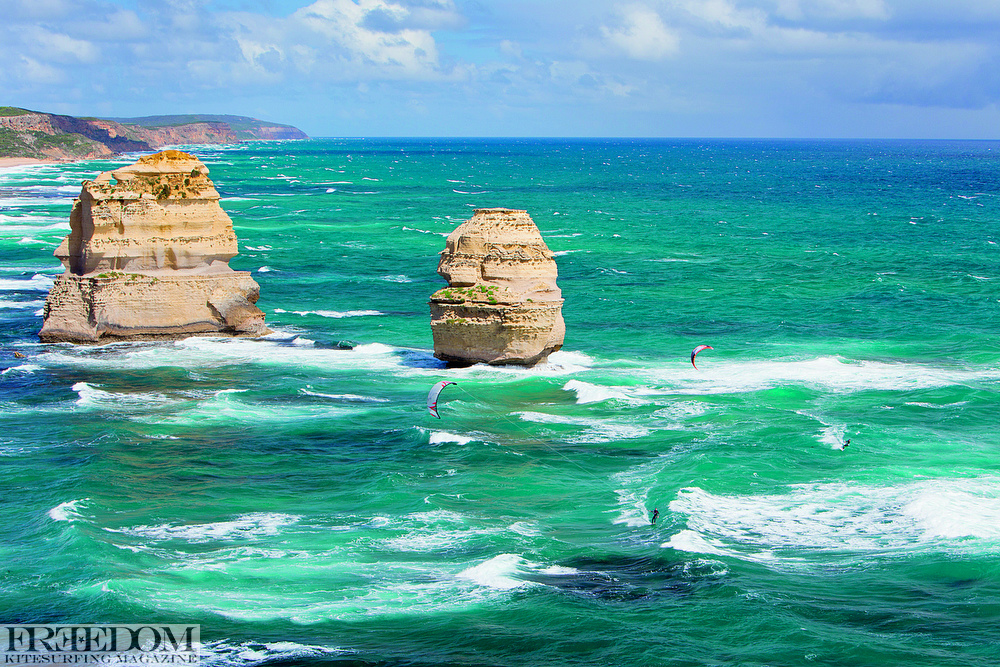 The great ocean road is a sight to see. Ian Alldredge and Ben Wilson have a look around on the dirty south trip way back when