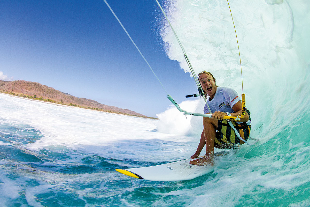 Not many guys are comfortable enough to pull a face like this in a heavy situation... Rob toying with a froth monster.
