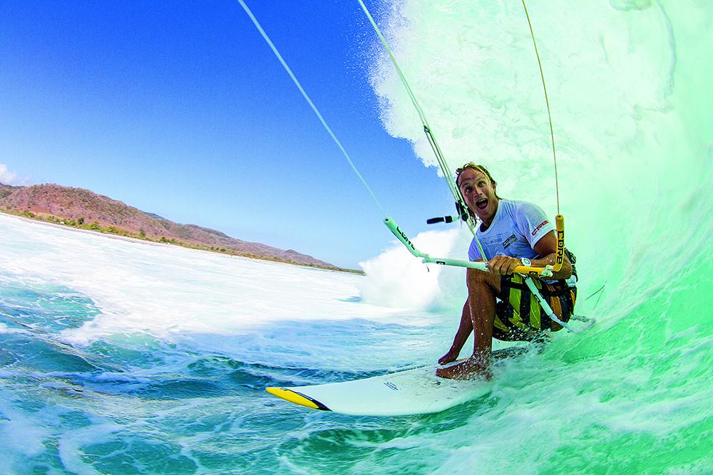 Rob Kidnie Kitesurfing Barrel