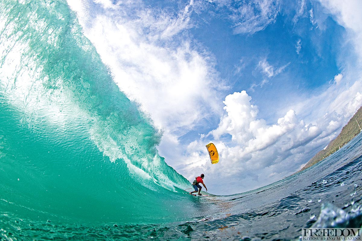 Keahi in his happy place... Photo- Jason Wolcott Liquideye