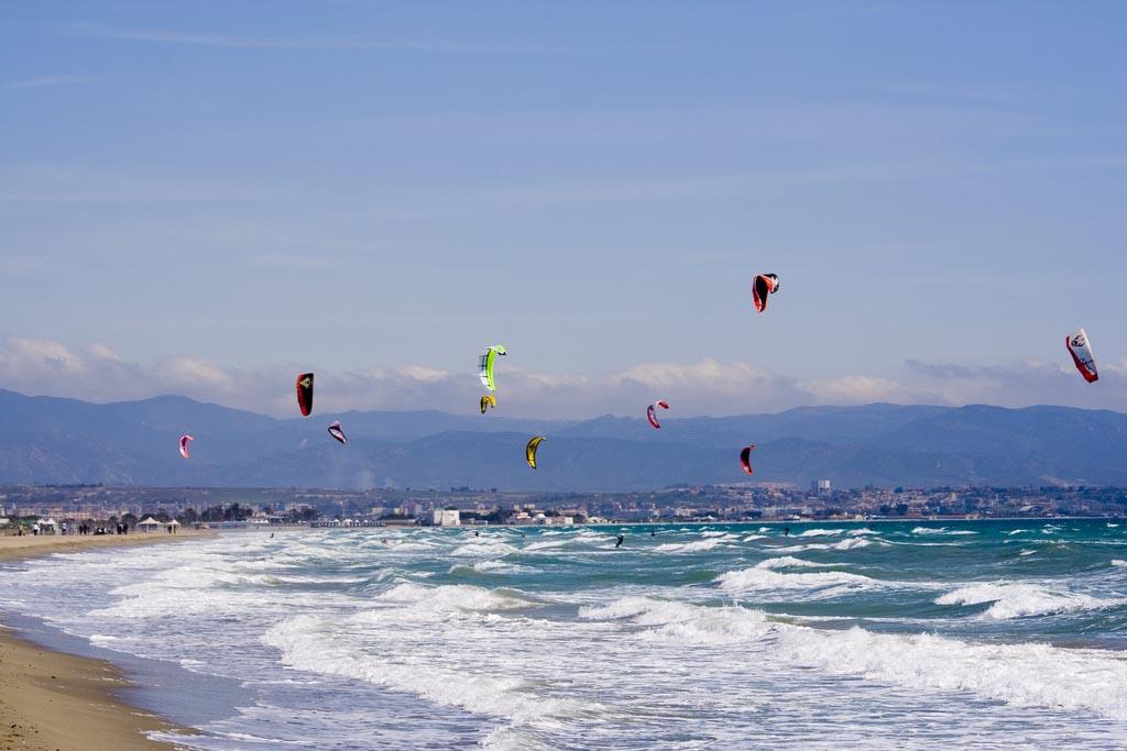 kitesurfer-poetto