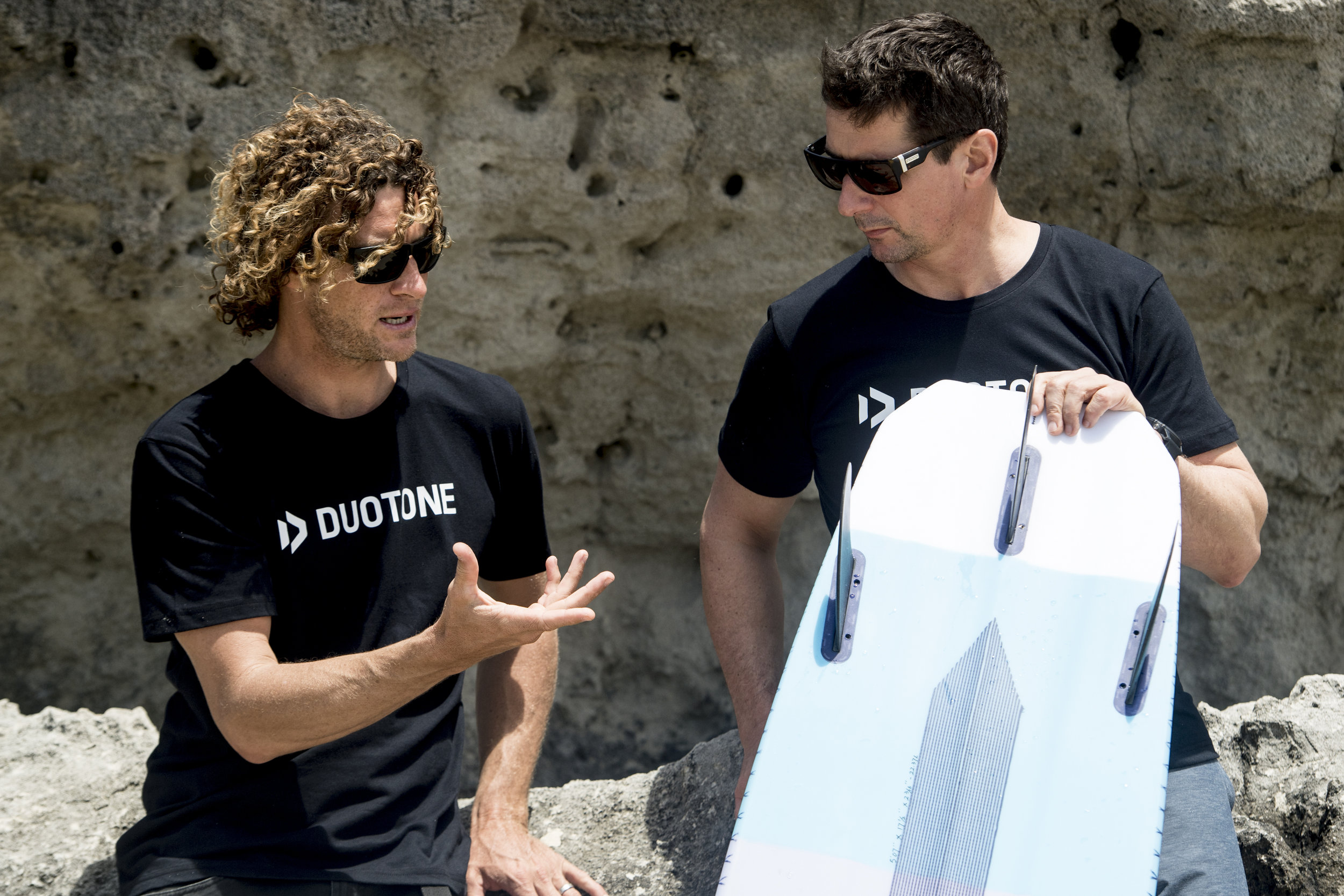 Sky Solbach expert surfboard designer chats with Till Eberle