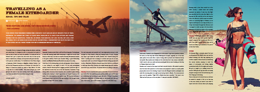 Karolina Winkowska Freedom Kitesurfing Travel tips for girls.