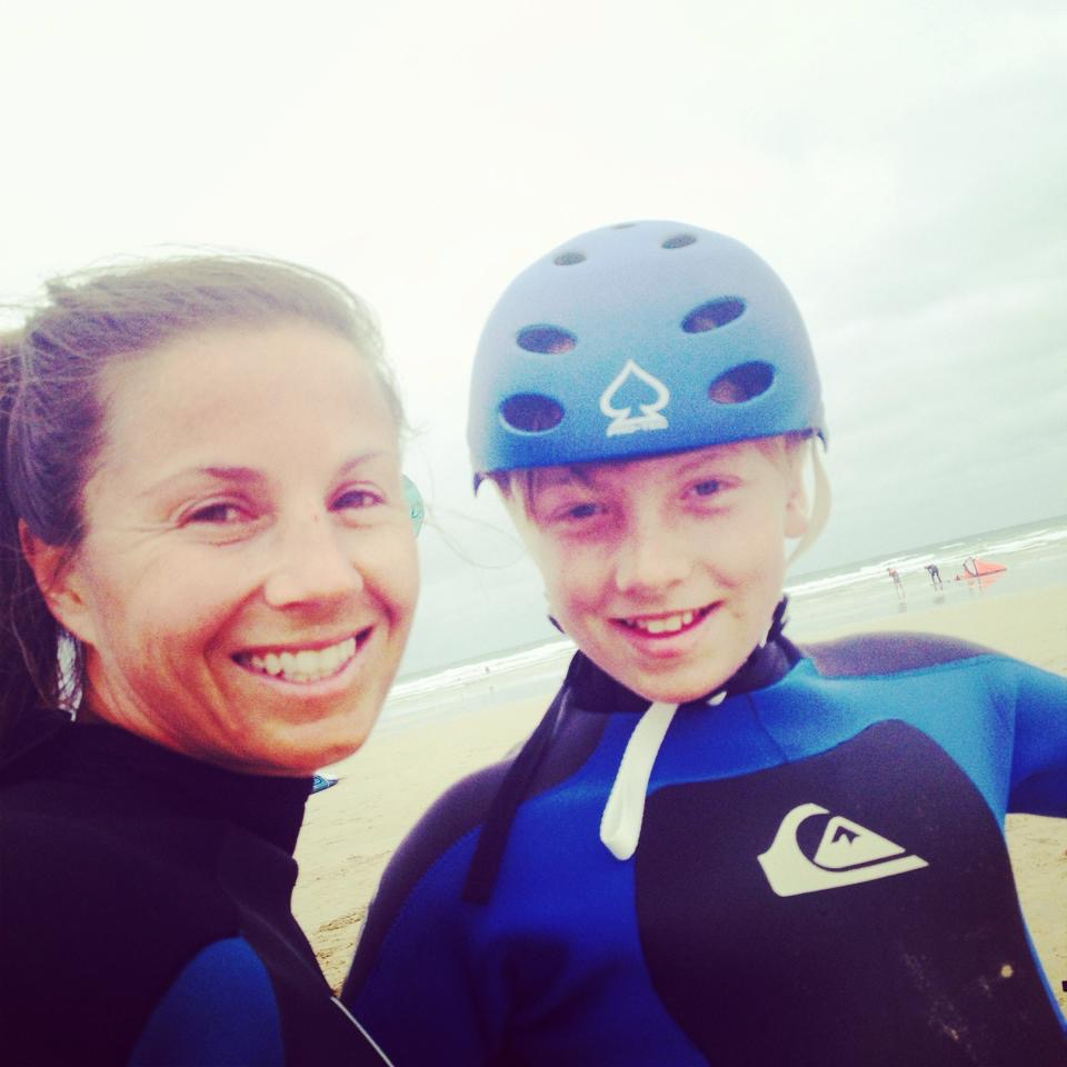 The Grom and Mum