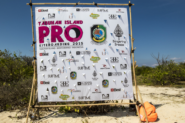 Sponsors are right into growing the sport and exposing fantastic locations in Indonesia - right on our doorstep!