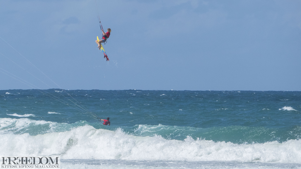 NKL Grand Final Gold Coast, James Carew, North Kiteboarding, strapless kitesurf air