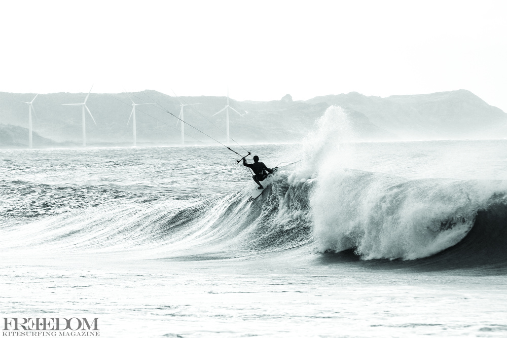 in the wilds of north luzon Philippines keahi gets loose and harnesses some wind energy of his on