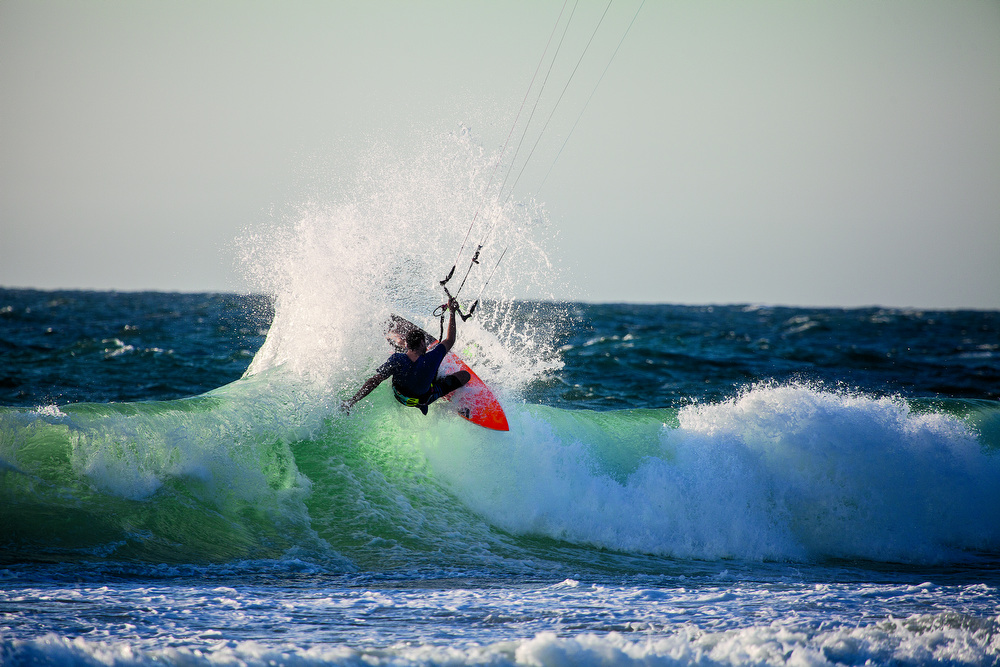 I WILL MAINLY USE THE PYZALIAN AND THE VADER THROUGH SUMMER FOR KITING. I'VE ALSO GOT A VANGUARD TO HAVE A PLAY AS I'M INTERESTED TO RIDE THEM BACK-TO-BACK TO SEE WHAT I PREFER IN THIS STYLE. PAUL SMYTHE