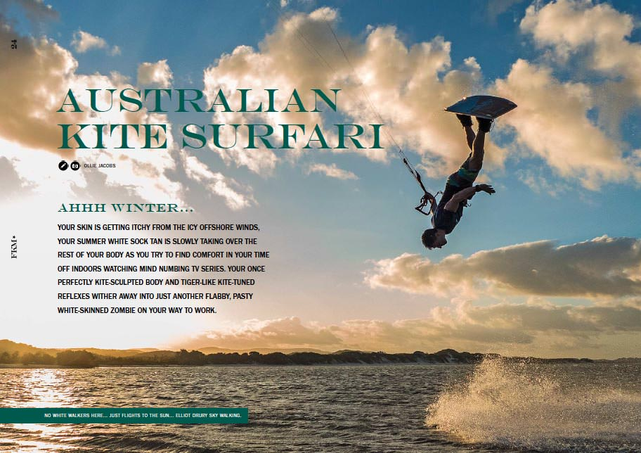 Australian Kite Surfari