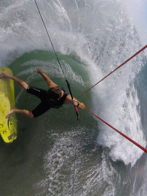 With teamriders like Ian Alldredge onside you can assume that the Stallion will be a super aggressive kite-surf machine!